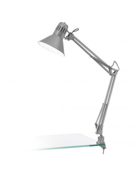 EGLO 90874 - FIRMO Lámpara de Oficina en Acero, plástico plata