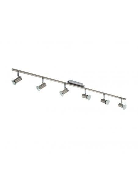 EGLO 90927 - ROTTELO Lámpara de Salón en Acero níquel-mate, cromo