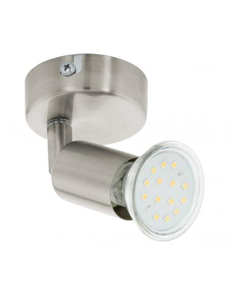 EGLO 92595 - BUZZ-LED Lámpara de Salón en Acero níquel-mate