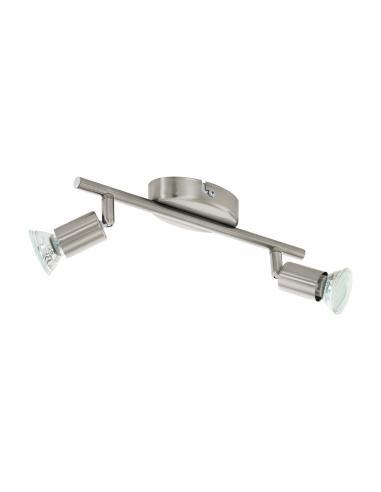EGLO 92596 - BUZZ-LED Lámpara de Salón en Acero níquel-mate