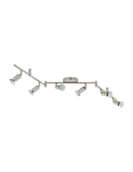 EGLO 92599 - BUZZ-LED Lámpara de Salón en Acero níquel-mate