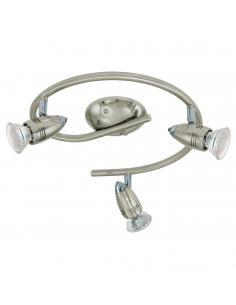 EGLO 92643 - MAGNUM-LED Lámpara de Salón en Acero níquel-mate, cromo