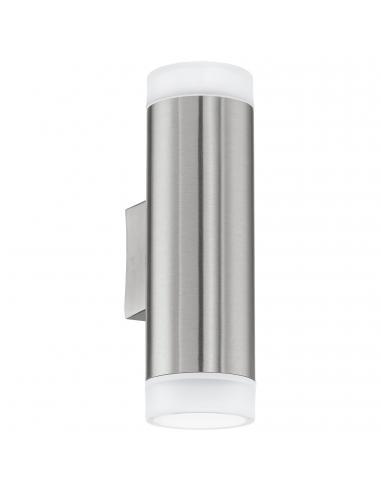 EGLO 92736 - RIGA-LED Aplique de exterior LED en Acero inoxidable acero inoxidable y Acrílico