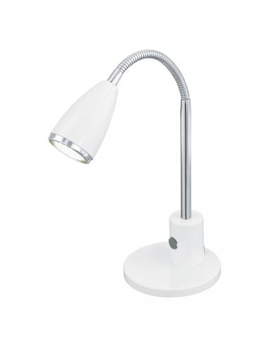 EGLO 92872 - FOX Lámpara LED en Acero blanco, cromo