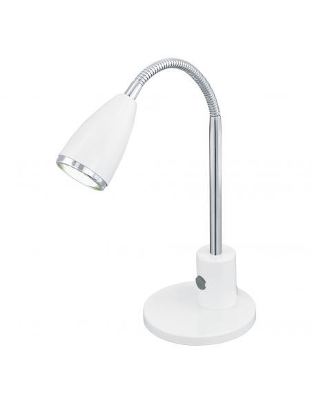 EGLO 92872 - FOX Lámpara LED en Acero blanco, cromo