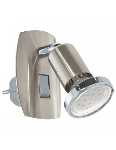 EGLO 92924 - MINI 4 Lámpara de Salón en Acero níquel-mate, cromo