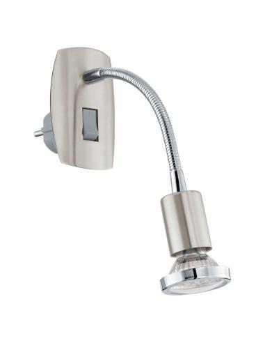 EGLO 92933 - MINI 4 Lámpara de Salón en Acero níquel-mate, cromo