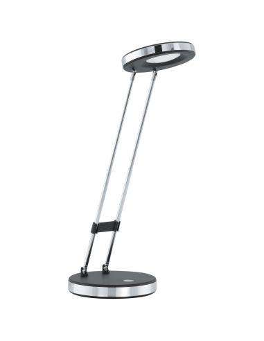 EGLO 93076 - GEXO Lámpara LED en Acrílico, acero negro, cromo