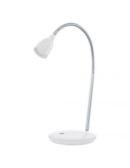 EGLO 93078 - DURENGO Lámpara LED en Acrílico, acero blanco, cromo
