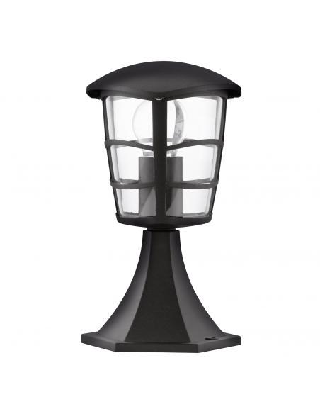 EGLO 93099 - ALORIA Lámpara Sobremuro en Fundición de aluminio negro y Acrílico