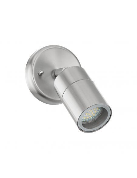 EGLO 93268 - STOCKHOLM 1 Aplique de exterior LED en Acero inoxidable acero inoxidable y Vidrio