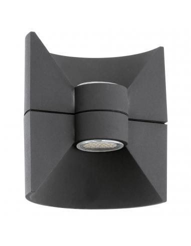 EGLO 93368 - REDONDO Aplique de exterior LED en Fundición de aluminio antracita
