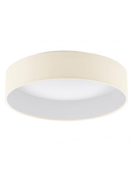 EGLO 93392 - PALOMARO Plafón LED en Acrílico blanco y Textil