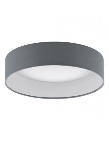 EGLO 93395 - PALOMARO Plafón LED en Acrílico blanco y Textil