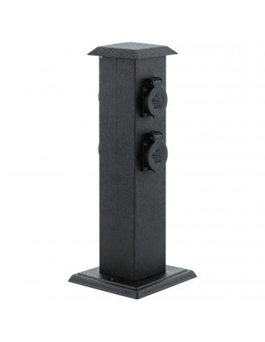 EGLO 93426 - PARK 4 Accesorio para Lámpara en Acero, plástico negro