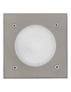 EGLO 93481 - LAMEDO Lámpara Empotrable en Acero inoxidable acero inoxidable y Vidrio satinado
