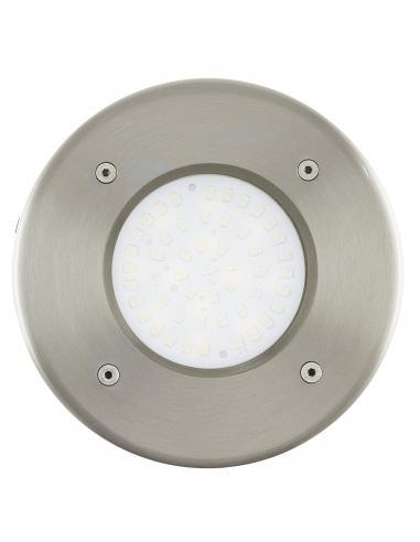 EGLO 93482 - LAMEDO Lámpara Empotrable en Acero inoxidable acero inoxidable y Vidrio satinado