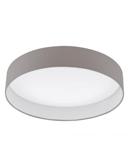 EGLO 93952 - PALOMARO Plafón LED en Acrílico blanco y Textil