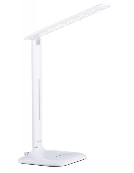 EGLO 93965 - CAUPO Lámpara LED en Acrílico, acero blanco