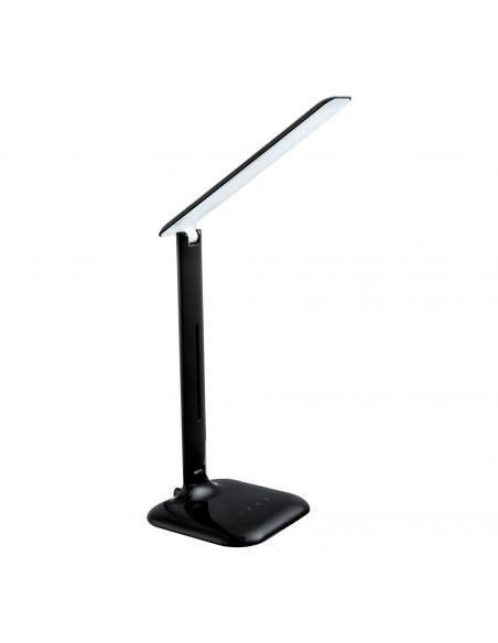 EGLO 93966 - CAUPO Lámpara LED en Acrílico, acero negro