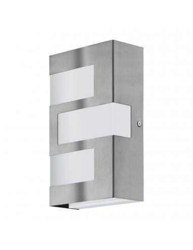 EGLO 94086 - RALORA Aplique de exterior LED en Acero inoxidable acero inoxidable y Acrílico