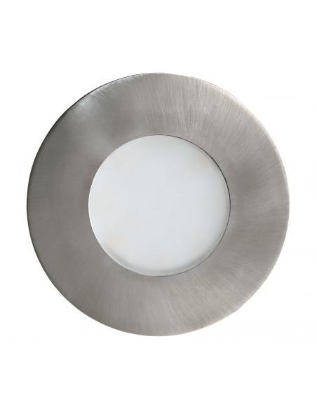 EGLO 94092 - MARGO Lámpara Empotrable en Fundición de aluminio acero inoxidable y Vidrio satinado