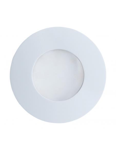 EGLO 94093 - MARGO Lámpara Empotrable en Fundición de aluminio blanco y Vidrio satinado
