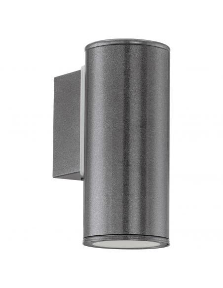 EGLO 94102 - RIGA Aplique de exterior LED en Acero galvanizado antracita