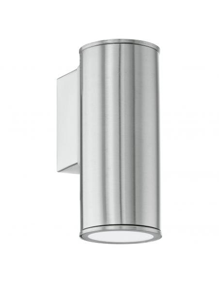 EGLO 94106 - RIGA Aplique de exterior LED en Acero inoxidable acero inoxidable