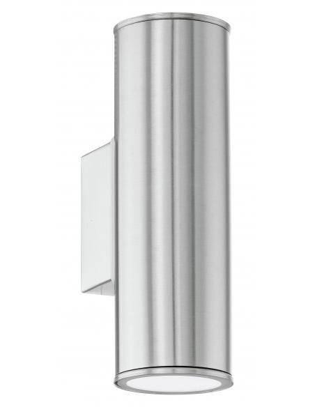 EGLO 94107 - RIGA Aplique de exterior LED en Acero inoxidable acero inoxidable