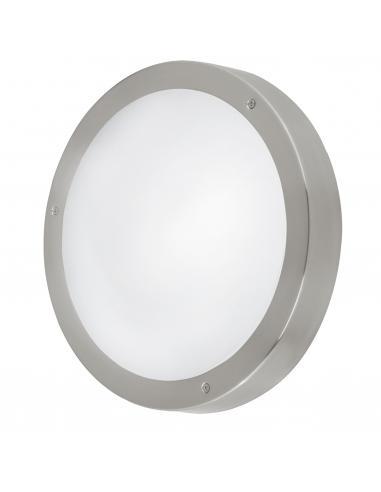 EGLO 94121 - VENTO 1 Aplique de exterior LED en Acero inoxidable acero inoxidable y Vidrio