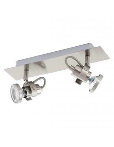 EGLO 94145 - TUKON 3 Lámpara de Salón en Acero níquel-mate