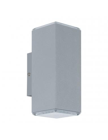 EGLO 94186 - TABO Aplique de exterior LED en Aluminio plata