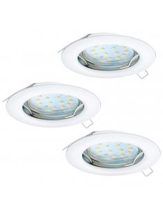 EGLO 94235 - PENETO Lámpara Empotrable LED en Acero blanco