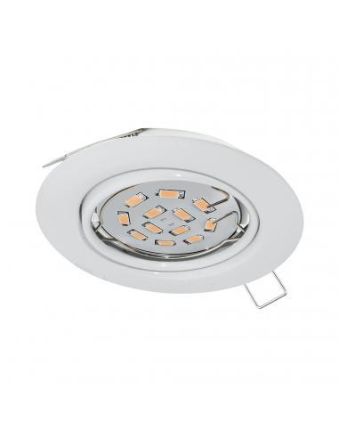 EGLO 94239 - PENETO Lámpara Empotrable LED en Acero blanco