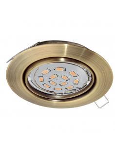 EGLO 94243 - PENETO Lámpara Empotrable LED en Acero bruñido