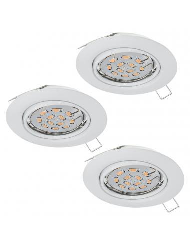 EGLO 94406 - PENETO Lámpara Empotrable LED en Acero blanco