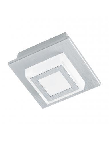 EGLO 94505 - MASIANO Plafón LED en Aluminio aluminio cepillado y Acrílico