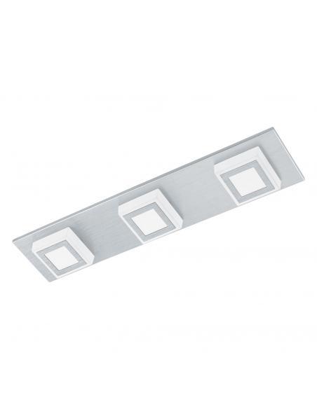 EGLO 94507 - MASIANO Plafón LED en Aluminio aluminio cepillado y Acrílico
