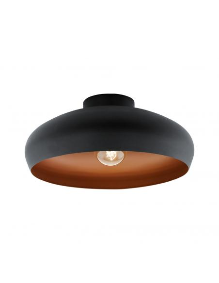 EGLO 94547 - MOGANO Lámpara de Salón en Acero negro, cobre
