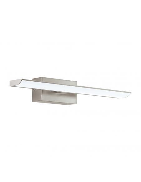 EGLO 94614 - TABIANO Luz de Espejo para Baño en Acero níquel-mate y Acrílico