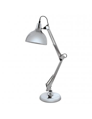 EGLO 94702 - BORGILLIO Lámpara de Oficina en Acero cromo