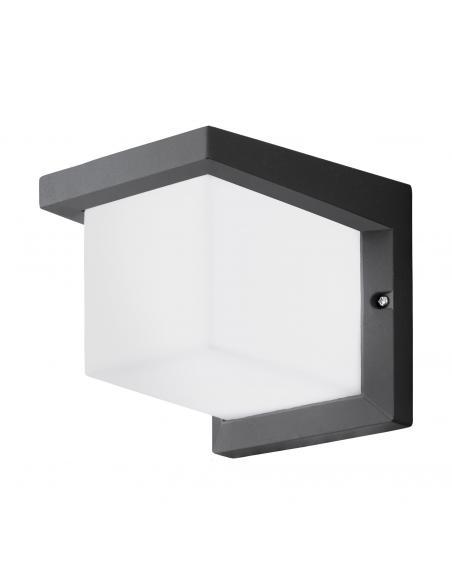 EGLO 95097 - DESELLA 1 Aplique de exterior LED en Fundición de aluminio antracita y Acrílico