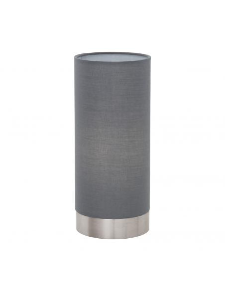 EGLO 95119 - PASTERI Lámpara de Tela en Acero níquel-mate y Textil