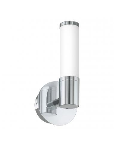 EGLO 95141 - PALMERA 1 Aplique LED en Acero cromo y Vidrio opalino mate