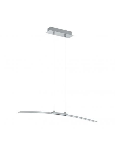 EGLO 95147 - LASANA Lámpara colgante LED en Aluminio, acero cromo y Acrílico