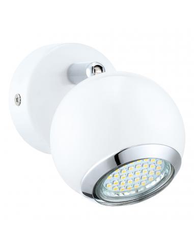 EGLO 31001 - BIMEDA Lámpara de Salón en Acero blanco, cromo