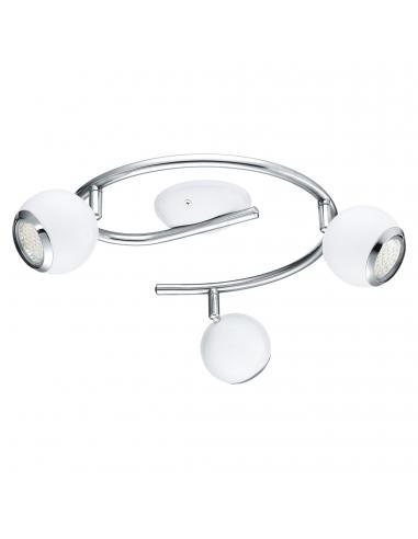 EGLO 31003 - BIMEDA Lámpara de Salón en Acero blanco, cromo