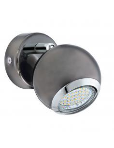 Plafón con LED integrado de estilo moderno con 3 luces VALMORA
