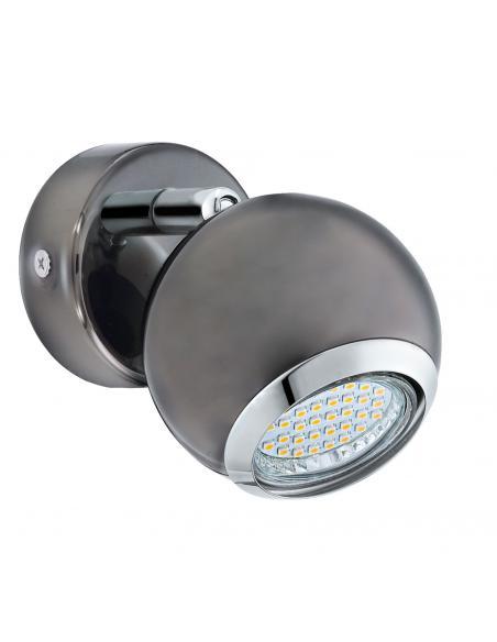 EGLO 31005 - BIMEDA Lámpara de Salón en Acero níquel-negro, cromo